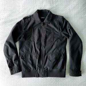 Strellson black Marvel-W bomber jacket